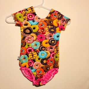 Handmade Donut Leotard Ages 3-5 Super Soft